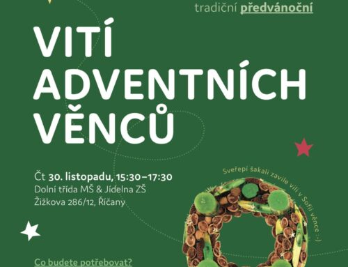 Save the date: Vití věnců